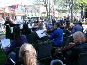World Fiddle Day streetview